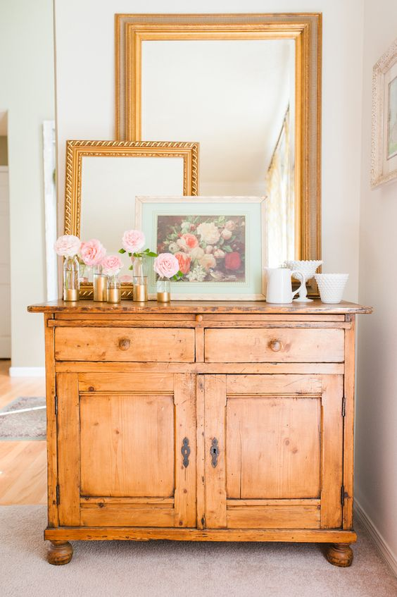 #home-decor, #entryway, #dresser    View entire slideshow: This Week\'s Most Adored Photos on http://www.stylemepretty.com/collection/774/