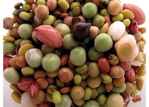 One of our Favorite Mixes & a good one to start on☺.  (Peanuts, Mung Bean, Adzuki Bean. Black, Crimson, Eston, French Blue & Green Lentils. Green, Speckled & Bill Jump Peas. Black, Brown & Beige Garbanzos)