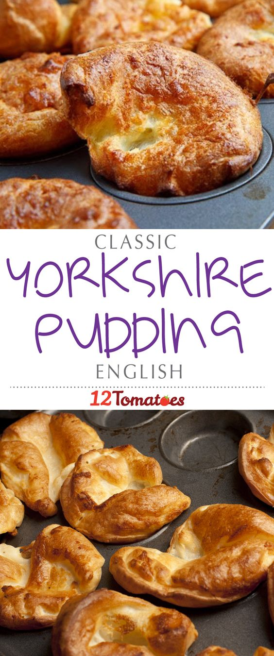 These delicious pastries are an absolute must any time you have a good roast going. They're a perfect accompaniment to a hearty main course, a savory and flaky biscuit that's a far cry from ordinary dinner rolls. This English recipe is a classic, and once you taste it, you'll know why!