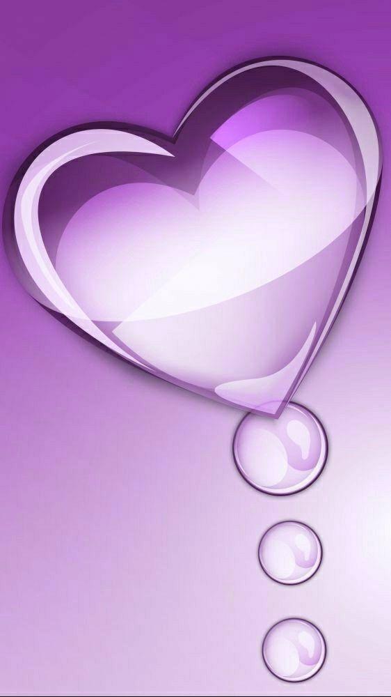 Pin By On Voll Nette Bilder Und Herzle Heart Wallpaper Wallpaper Heart Purple Wallpaper Clay love wallpaper image on paper