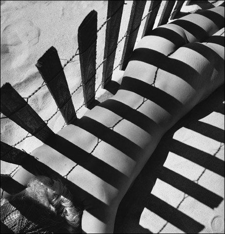 Fernand Fonssagrives (1910-2003) - Sand Fence, c.1935 (Lisa Fonssagrives)