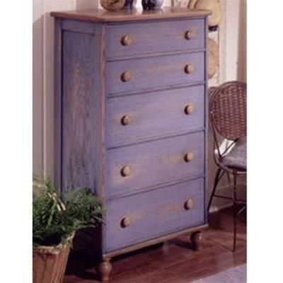 Buy Woodworking Project Paper Plan to Build Country-Fresh 5-Drawer Dresser at Woodcraft.com