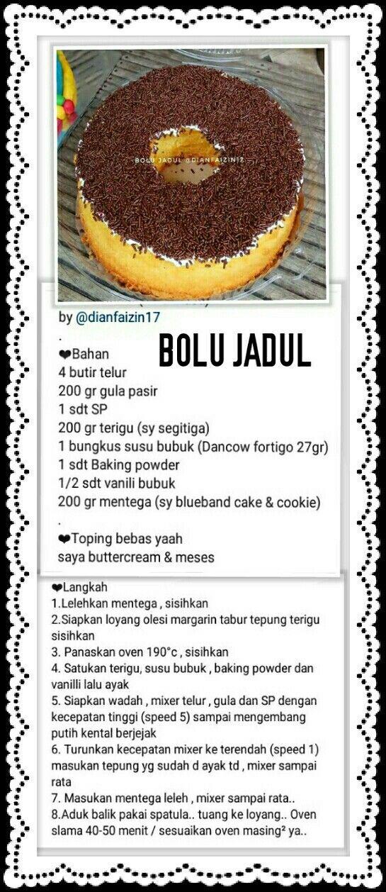 Resep Kue Makanan Makanan Manis Makanan Dan Minuman