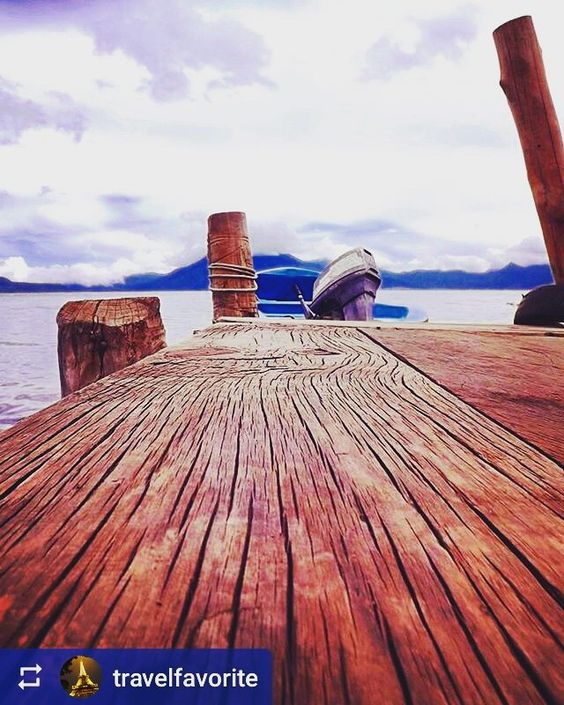 From @travelfavorite: A different view of #Lake #Atitlan #Guatemala #ILoveAtitlan #AmoAtitlan #Travel http://OkAtitlan.com