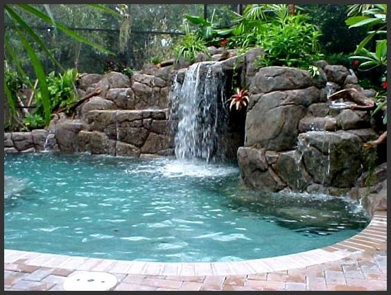 Pinterest the world s catalog of ideas for Big swimming pools for gardens