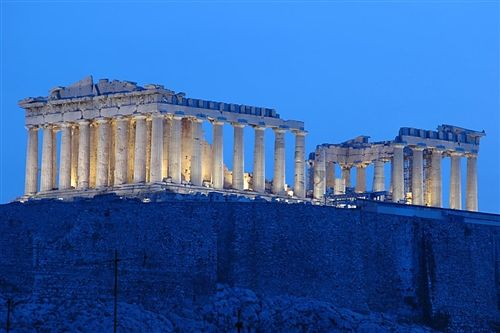 The Parthenon in Athens at sunrise | Submitted by Terrie Santamaria
