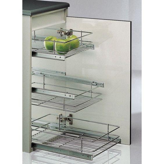 Cesto para mueble a partir de ideal para - Ideas para organizar armarios ...