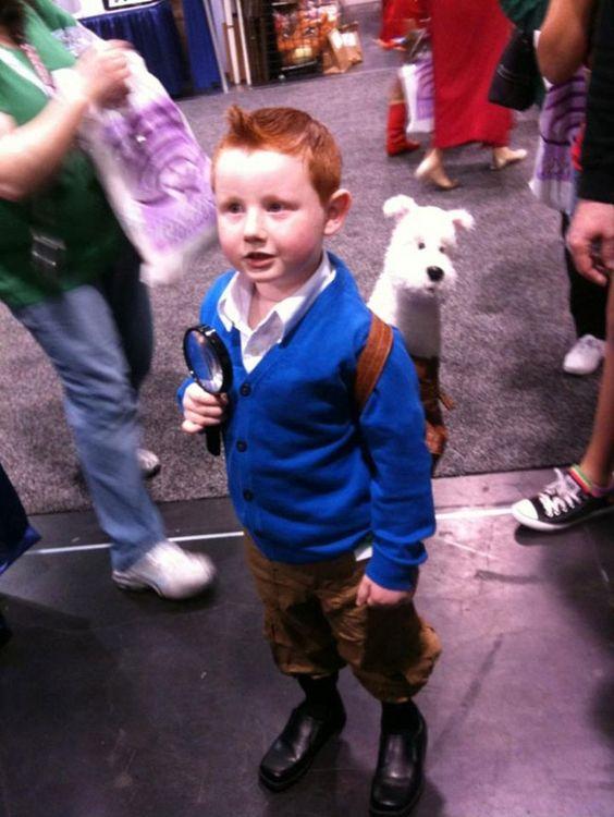 Baby Tintin!