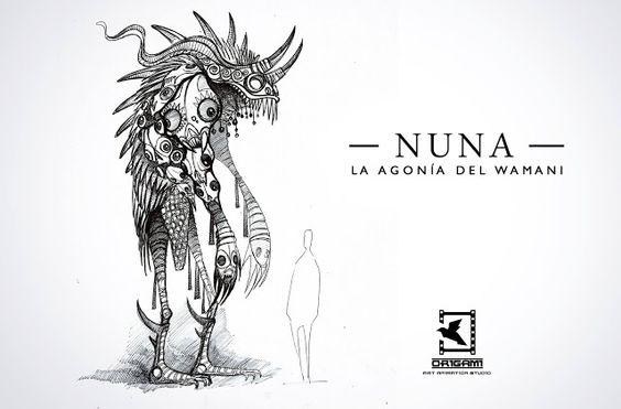 La Nuez: Nuevas imágenes de Nuna, película animada peruana
