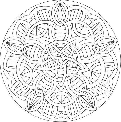 14 Beau De Coloriages A Imprimer Mandala Stock Mandala Celta Mandalas Para Colorear Mandalas