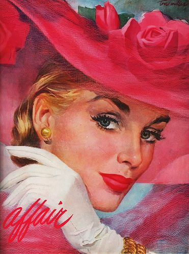 #Illustration 1951 Tom Miller  #vintage