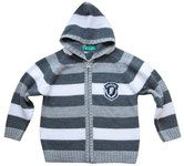 Chaqueta con cremallera y capucha para bebé niño. Chaqueta de punto con capucha. Hecha de 50% algodón y 50% acrílico. Tallas: 92/24m  Precio: 11.95 eu. http://www.snali.es/ropa-b…/jers%C3%A9is-chaquetas-chalecos/