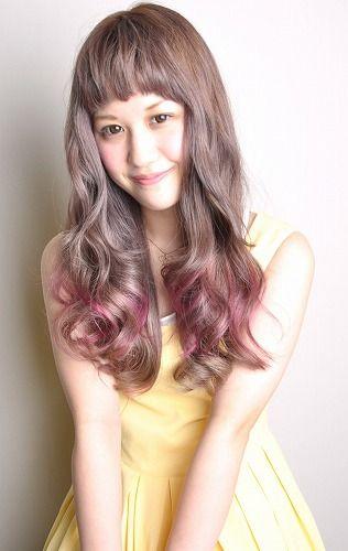 ピンク 髪型|脱?促 on Pinterest|髪型