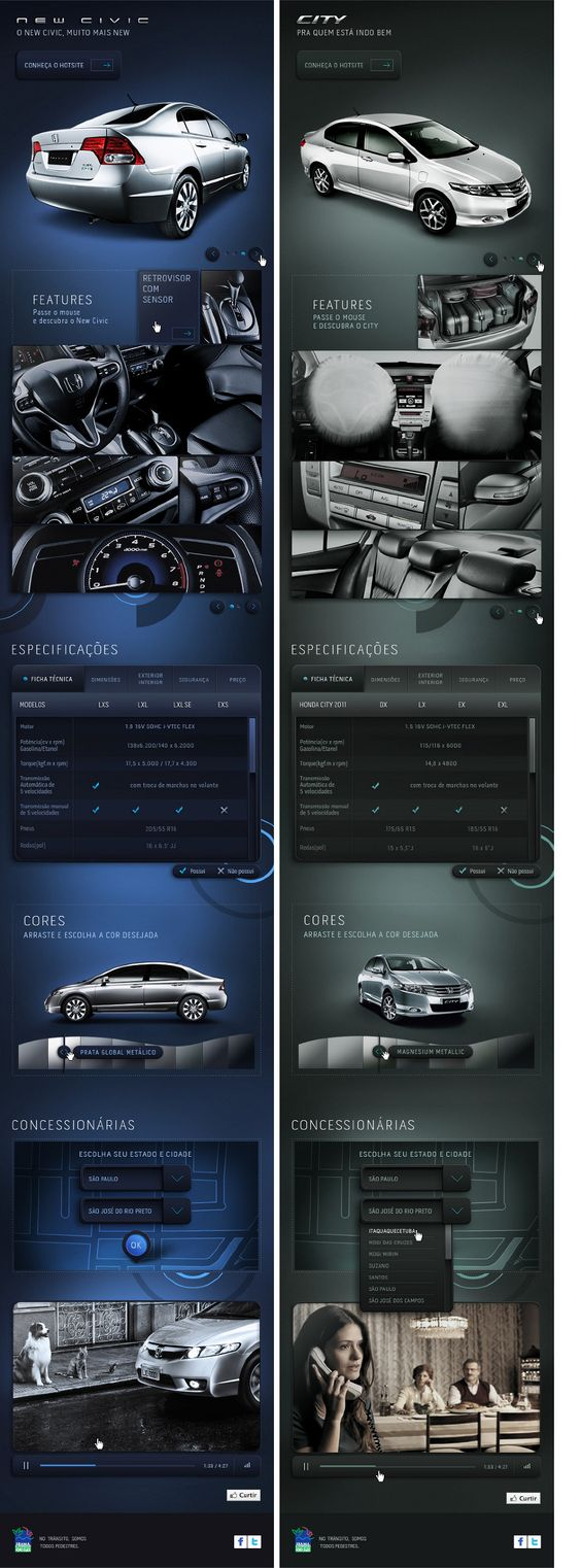 Honda - Portal Redesign - Augusto Paiva / Interactive Whatever