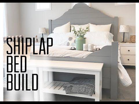 Diy Shiplap Bed Frame Bed Frame Bed