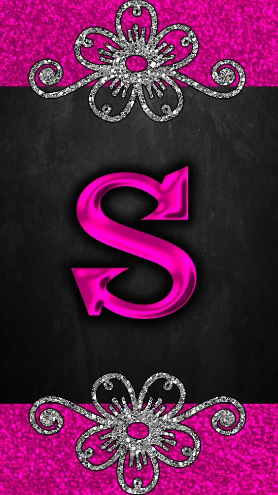 S By Gizzzi S Letter Images Name Wallpaper Bling Wallpaper