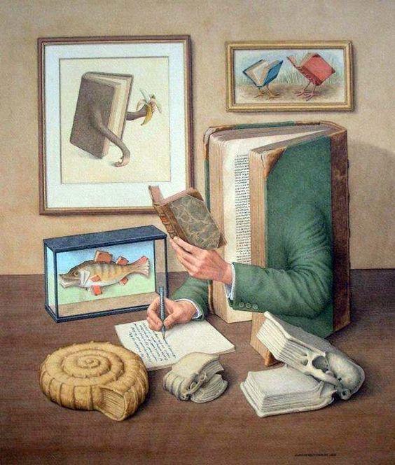 Doctor ojiplático.  Jonathan Wolstenholme.  The Surreal Books on Books
