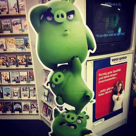 #angrybirds #movie #poster #leihenstattkaufen #leihenistvielgünstiger #leihenistclever #videothek #videoworld #dvd