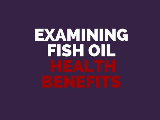 A brief examination of different fish oil health benefits.