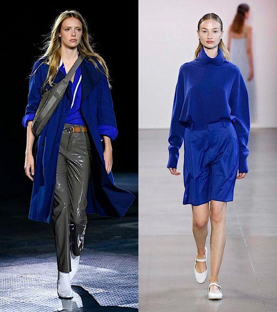 Синий - модный цвет 2020 года