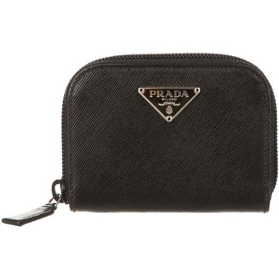 prada saffiano wallet card case