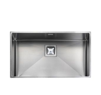 Great big steel sink 700mm wide to get all pans in. Atlantic Kube KUB70 - Rectangular Undermount Sink | Rangemaster