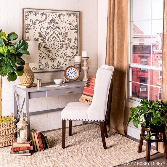 Kick your motivation into high gear with a gorgeous workspace!