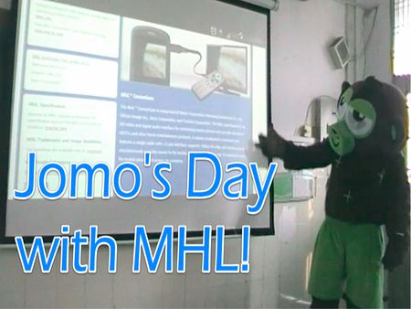 This the short story of Jomo the monkey who discovered MHL and holds a presentation about his day with MHL.    Enjoy!