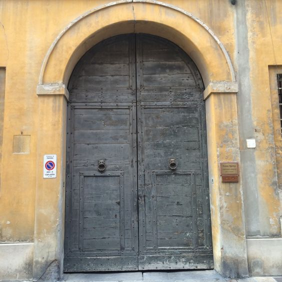 A door from Parma, Italy. Taken by Mandy Bell here at CSW!