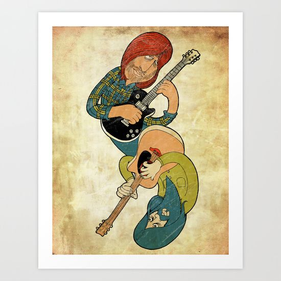 Dual Guitars by Jon Hoeveler