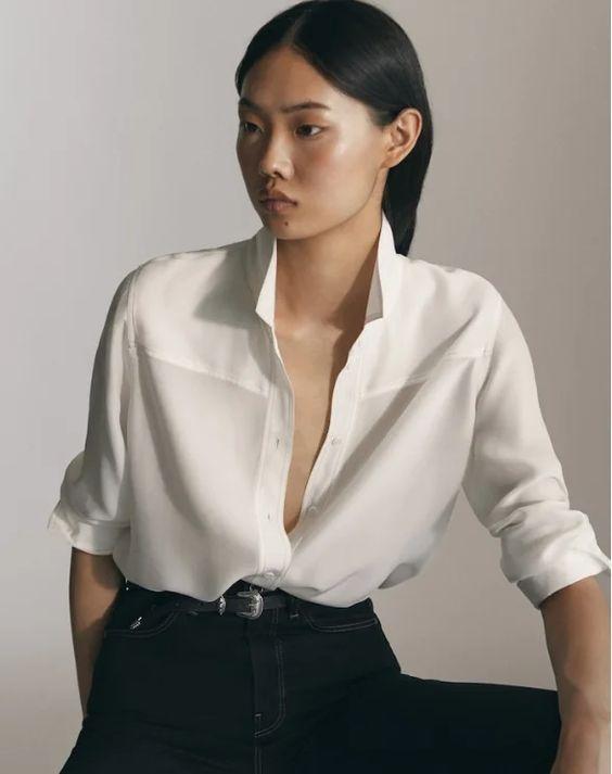 Три актуальные Белые Рубашки - База на все случаи жизни | ЭЛИНА СЪЕДИНА | Яндекс Дзен