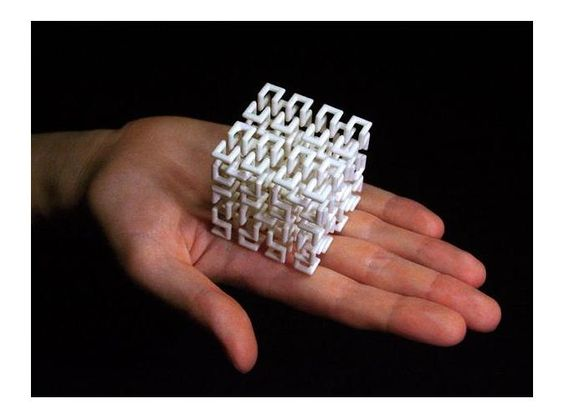 Hilbert Curve - cubo vira pulseira vira elástico de cabelo vira...