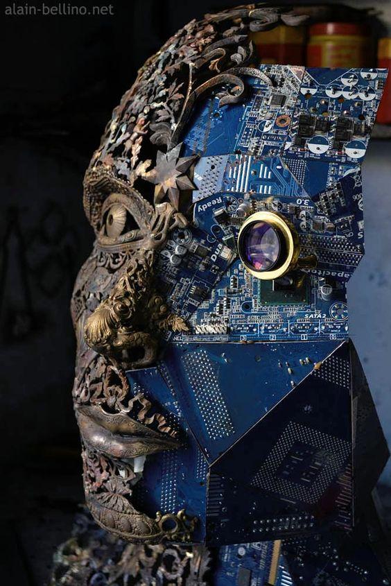 """Memories"" in progress http://be.net/sculpteur"