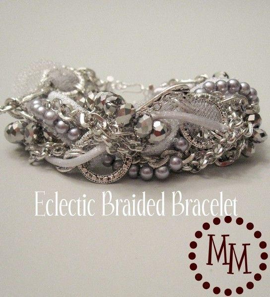 Eclectic Braided Bracelet diy