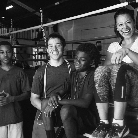 Steady smiling in this place I call my second home @neworleansboxingclub Will definitely be missing my summer buddies.  #lastDayInNola #Boxingchick photo: @jeremyrayvaldez (good luck at Ringside Deuce!)