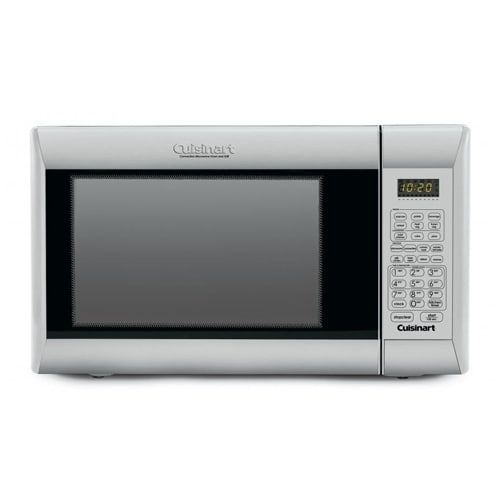 Cuisinart Convection Microwave Oven With Grill Silver Stainless Steel