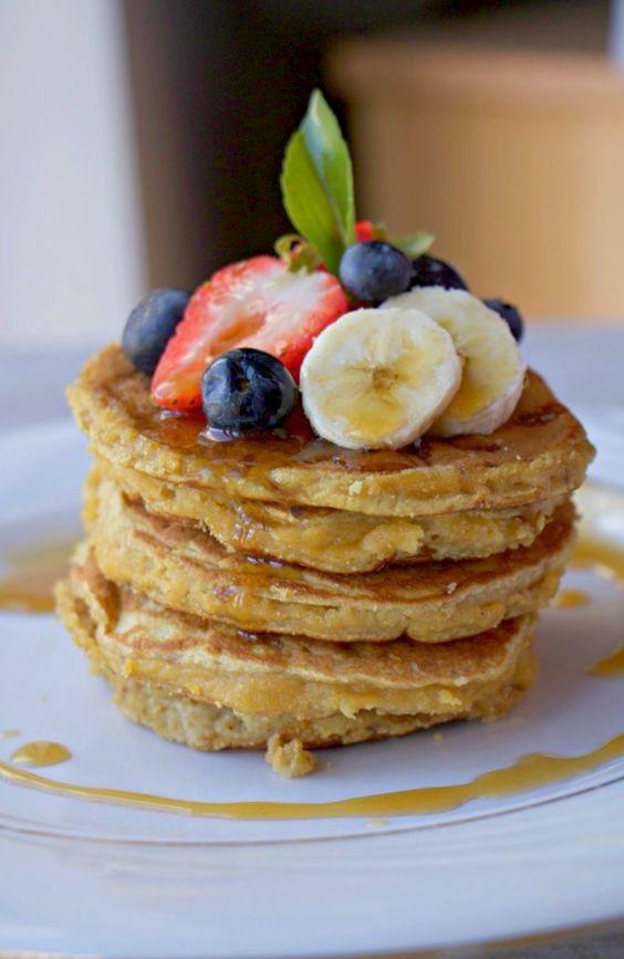 Fluffy Coconut Flour Pancakes (Paleo, GF, Grain-Free, Dairy-Free)