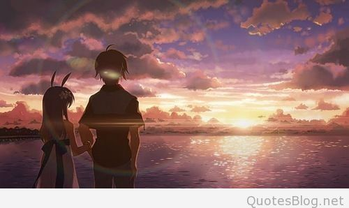 Anime Couple Wallpaper Hd Epic Love Couple Holding Arm Sundress Water Ocean Sunset Pretty Beautiful Clouds Is Anime Art Beautiful Anime Wallpaper Anime Scenery Cute anime couple wallpaper 1920x1080