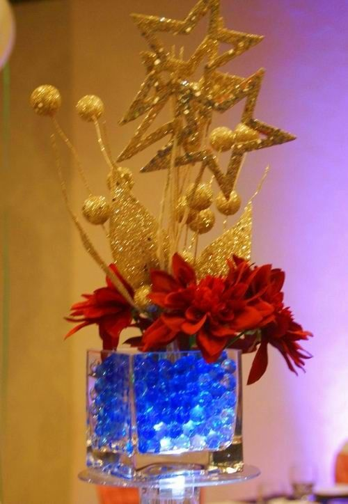 Glass centerpieces vase and wedding on pinterest