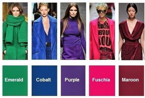 colores de moda otoño invierno 2015 - Buscar con Google