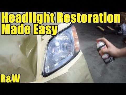 Ultimate Guide On How To Restore Headlights To An Amazing Like New Condition Youtube Headlight Restoration Repair And Maintenance Headlight Restoration Diy