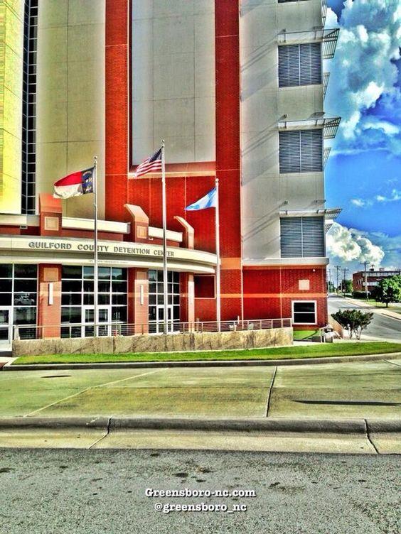 Guilford County Jail  201 S Edgeworth St, Greensboro, NC 27401