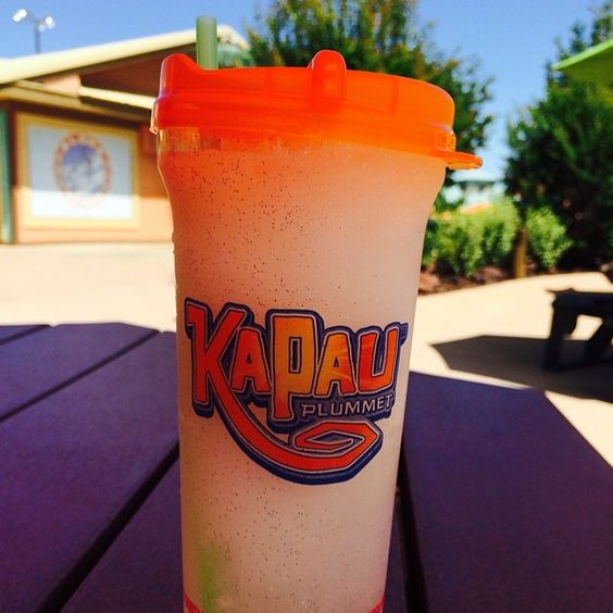 Now enjoying a frozen lemonade before we head home. Thanks for a great time White Water! #explorebranson #whitewater