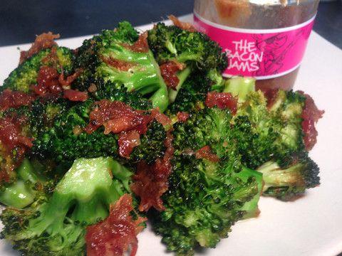 Honey Pepper Bacon Jam Broccoli Recipe