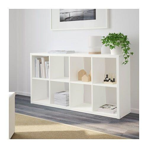 Open Kubus Kast.Flysta Open Kast Wit Kubus Planken Ikea Woonkamer En