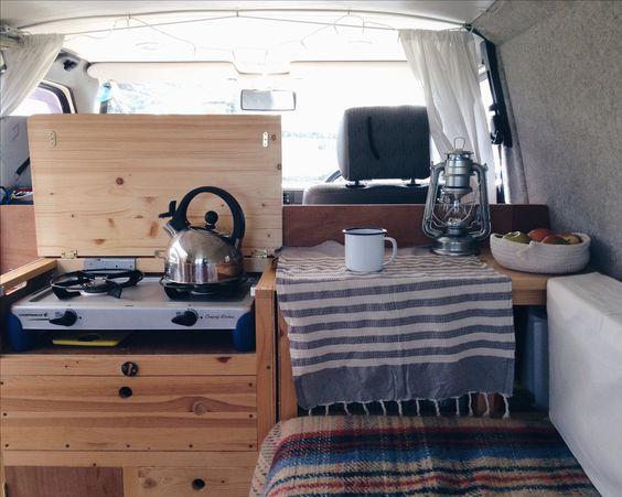 Our homemade VW T4 Transporter Eurovan campervan @nataliecoe_