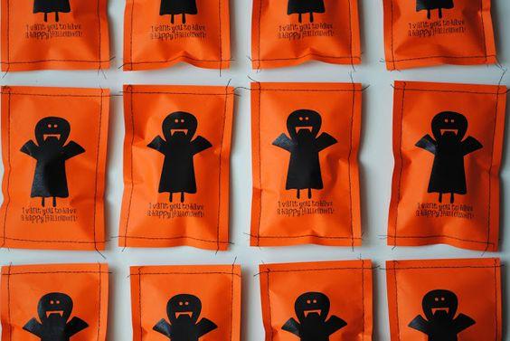 a pretty cool life.: Last second vampire teeth Halloween treats & printable (updated!)