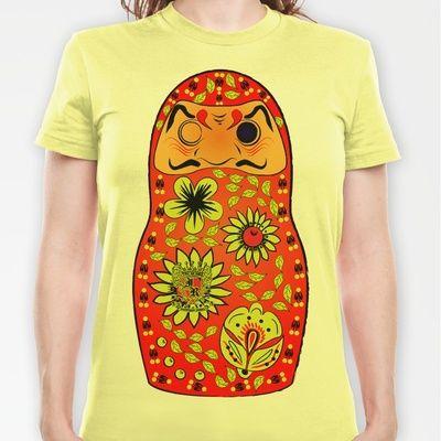 Matryoshka Daruma T-shirt