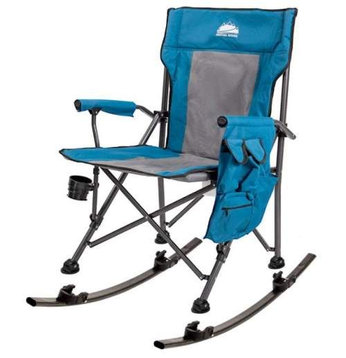 Coastrail Outdoor Folding Rocking Chair With Detachable Rockers 2 In 1 In 2021 Folding Rocking Chair Folding Camping Chairs Camping Chairs