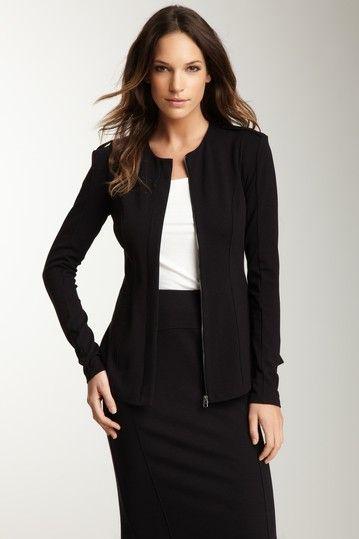 Zip Front Jacket by twenty on @HauteLook